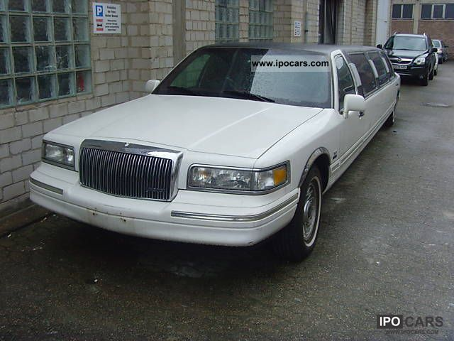 1996 Lincoln  town car stretch limo, G-Cat 8.6 m! leather! Other Used vehicle photo