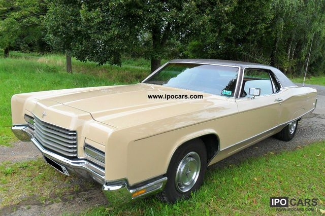 Lincoln  Continental Coupe 7.5 liter 370HP 1971 Vintage, Classic and Old Cars photo