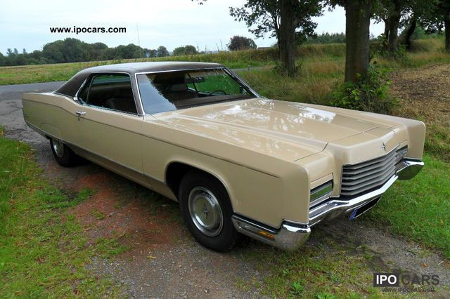 1971 Lincoln Continental Coupe 7 5 Liter 370hp Car Photo