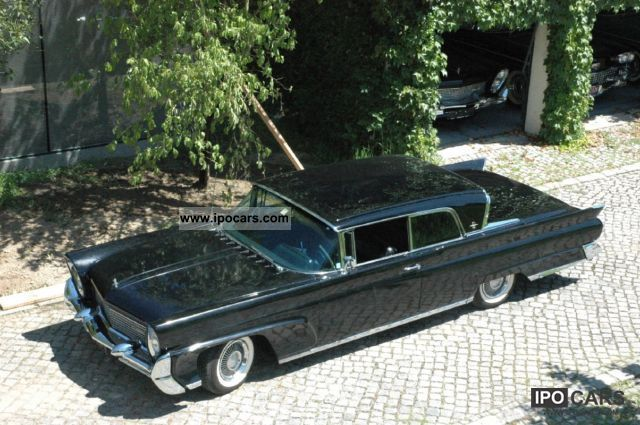 Lincoln  Continental Coupe 1958 Vintage, Classic and Old Cars photo