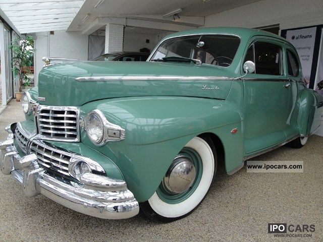 1947 Lincoln  Zephyr 6.0 V12 Other Used vehicle photo