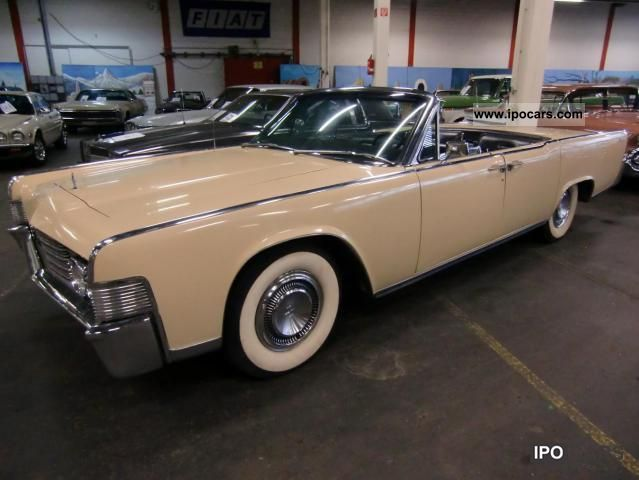 Lincoln  Continental convertible 1965 Vintage, Classic and Old Cars photo