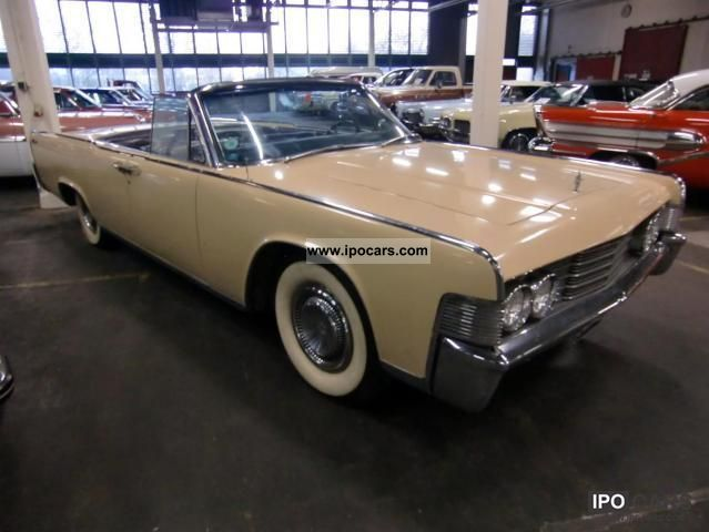 1965 lincoln continental convertible car photo and specs. Black Bedroom Furniture Sets. Home Design Ideas