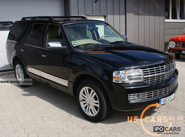 2007 Lincoln  Navigator Ultimate, LPG, 3.5t Euro trailer hitch, stock Off-road Vehicle/Pickup Truck Used vehicle photo