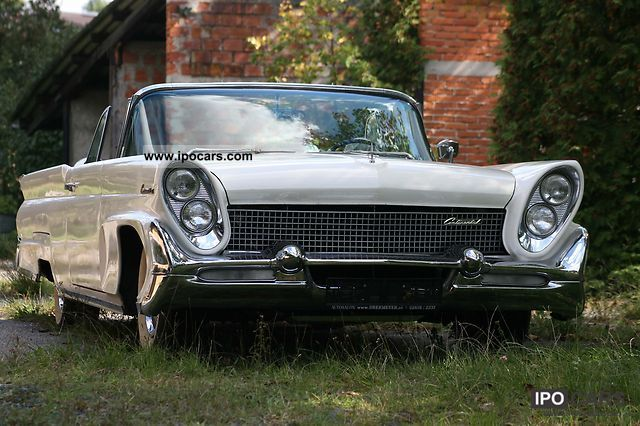 Lincoln  Continental 1958 Vintage, Classic and Old Cars photo