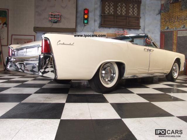 Lincoln  Continental Convertible 1961 Vintage, Classic and Old Cars photo