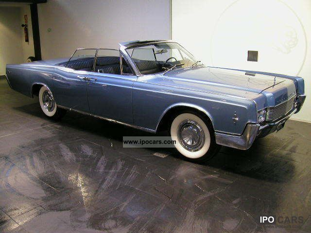 Lincoln  Continental Convertible 1963 Vintage, Classic and Old Cars photo