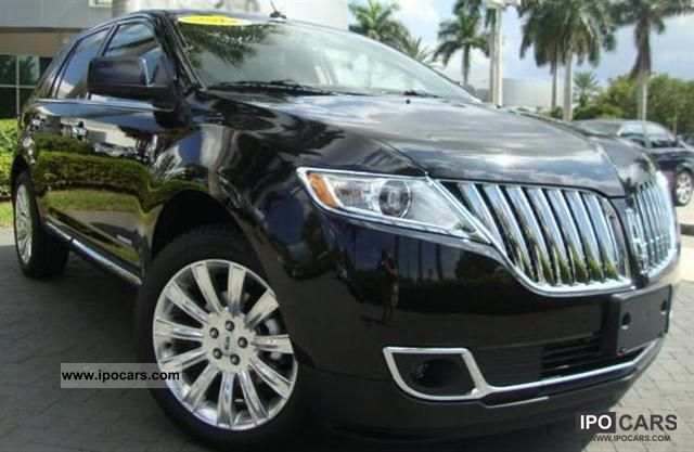 2011 Lincoln  MKX AWD 3.7L = 2012 = / NAVI (T1 exports -25.9%) Off-road Vehicle/Pickup Truck New vehicle photo