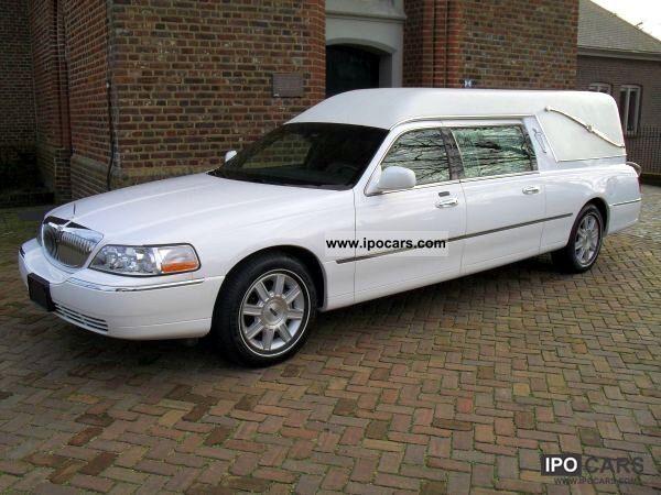2008 Lincoln Funeral Cars Hearse Karawan Funeralcar Car Photo