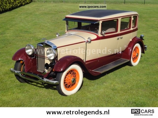 Lincoln  Open Tourer seven passengers 1927 Vintage, Classic and Old Cars photo