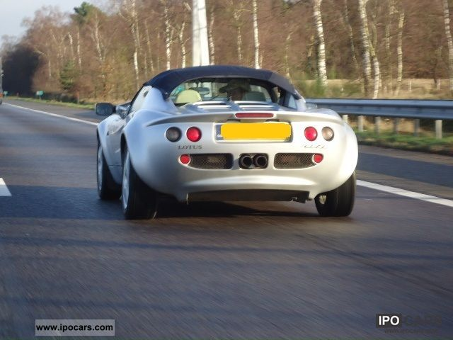1998 Lotus Mki Elise Hardtop Top Car Photo And Specs