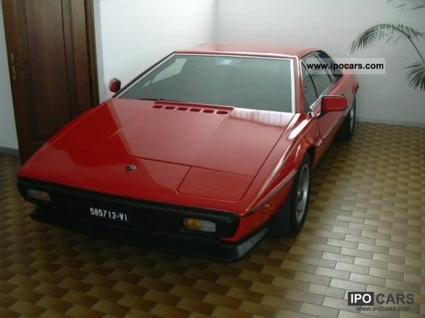 Lotus  Esprit 2000 1979 Vintage, Classic and Old Cars photo