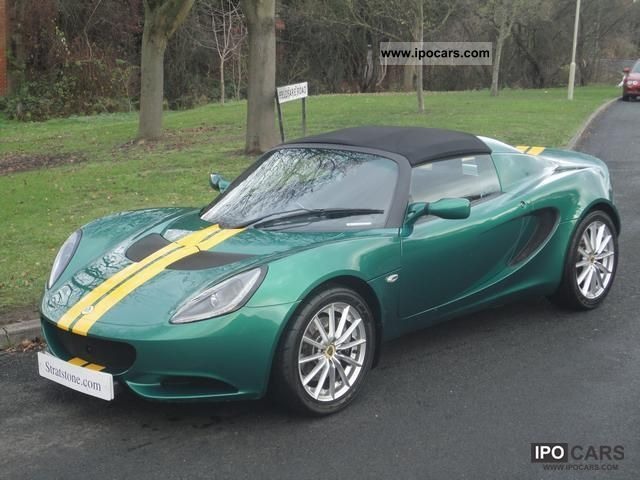 2010 Lotus Elise S Convertible Traction Control Air Rhd Cabrio Roadster