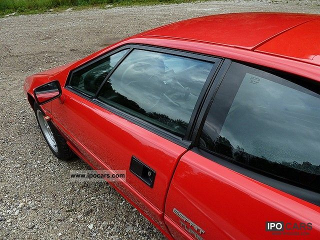 Make lotus 1988 esprit 1988 lotus esprit sports car coupe