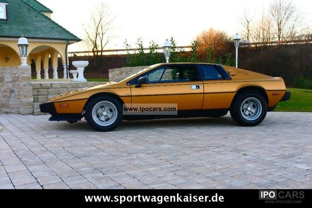 Lotus  Esprit S2 ** *** **** Colin Chapman LHD *** 1979 Vintage, Classic and Old Cars photo
