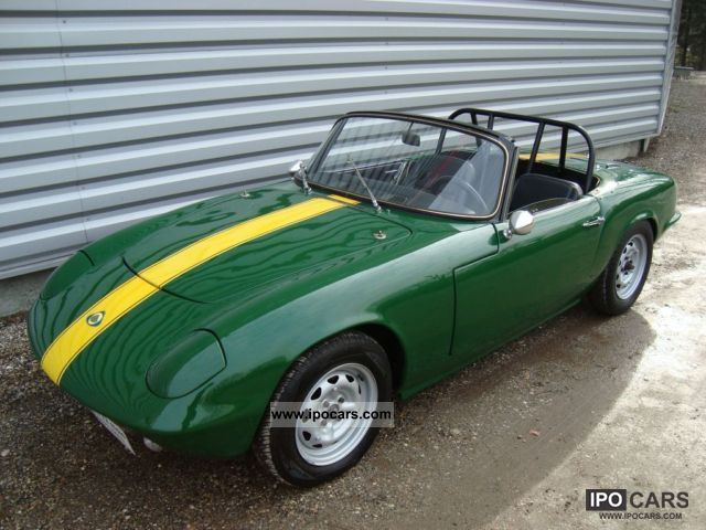 Lotus  Elan S1 1964 Vintage, Classic and Old Cars photo