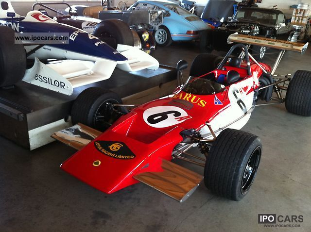 Lotus  69 F2 monocoque 1971 Vintage, Classic and Old Cars photo