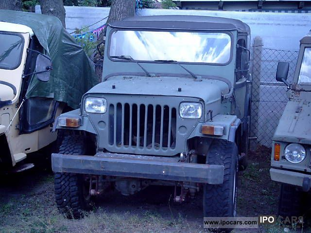 1991 Mahindra  CJ ~ 540 olive green car about 5 times in eavesdropping Off-road Vehicle/Pickup Truck Used vehicle photo