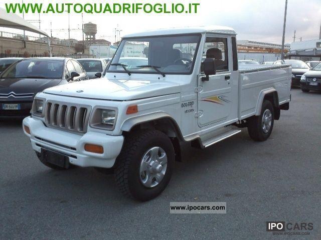 2011 Mahindra  5.2 CRDE Bolero Pick Up 4WD SC KM0 Off-road Vehicle/Pickup Truck Used vehicle photo