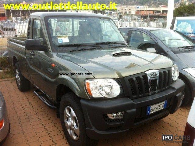 2011 Mahindra  Goa CRDE 2.2 16V 4WD pick-up SC Off-road Vehicle/Pickup Truck Used vehicle photo