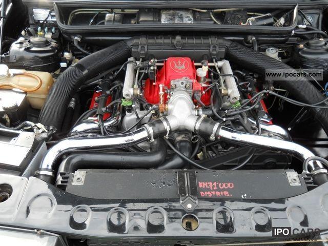 1988 maserati 422 2 0 223 cv bi-turbo