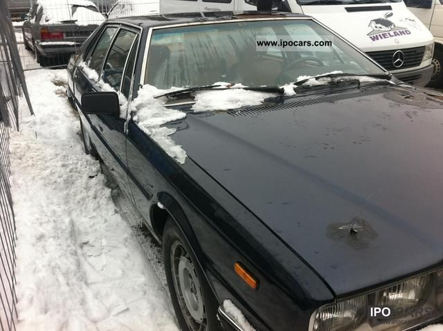 1980 Maserati  Quattroporte Limousine Used vehicle photo