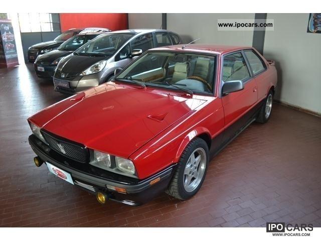 1990 Maserati  224 V PERFETTA SUPERPREZZO Sports car/Coupe Used vehicle photo