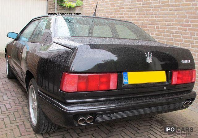 Maserati ghibli gt 2 0 24v 306hp 1993 2 lgw