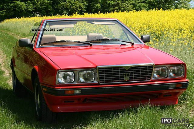 1987 Maserati  Spyder Cabrio / roadster Used vehicle photo