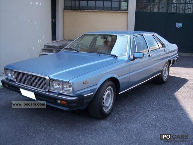 Maserati  Quattroporte III 4.2 (AM 330) 1979 Vintage, Classic and Old Cars photo