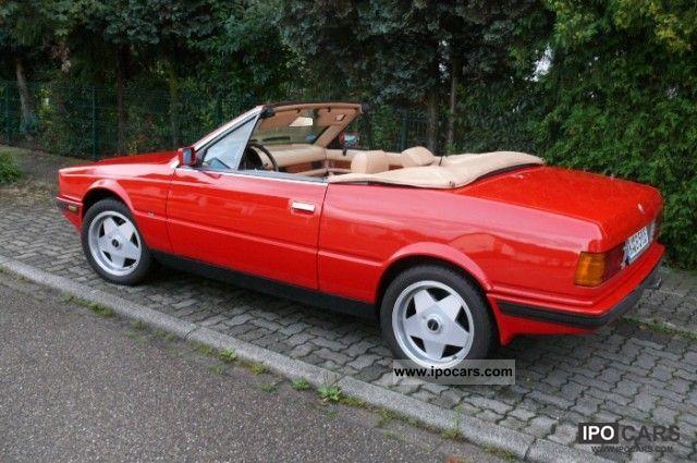 1985 Maserati Biturbo Specs 1985 Maserati Biturbo Spyder