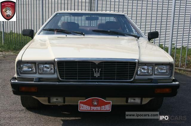 1983 Maserati  Quattroporte Limousine Used vehicle photo