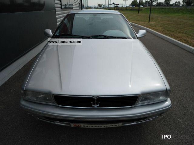 2000 Maserati Quattroporte Evoluzione V6 Limousine Used vehicle photo ...