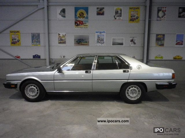1985 Maserati  Quattroporte Limousine Used vehicle photo