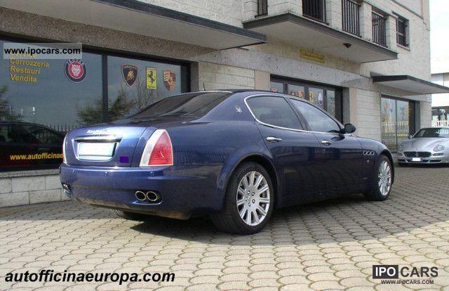 2005 maserati quattroporte car photo and specs 2005 maserati quattroporte horsepower 2005 maserati quattroporte engine specs