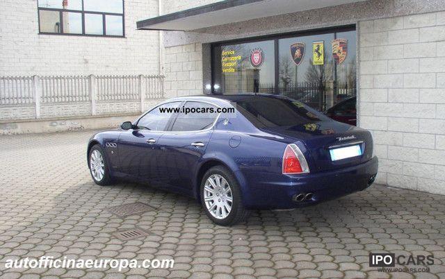 2005 maserati quattroporte car photo and specs. Black Bedroom Furniture Sets. Home Design Ideas