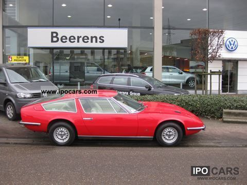 Maserati  Indy 4900 1972 Vintage, Classic and Old Cars photo