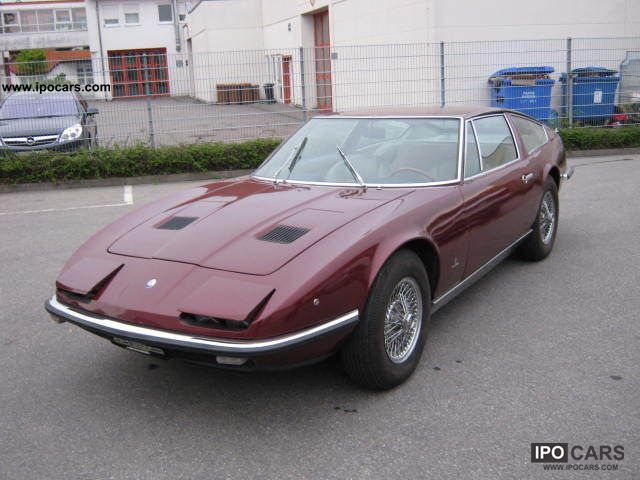 Maserati  Indy 4.2 H-approval 1970 Vintage, Classic and Old Cars photo