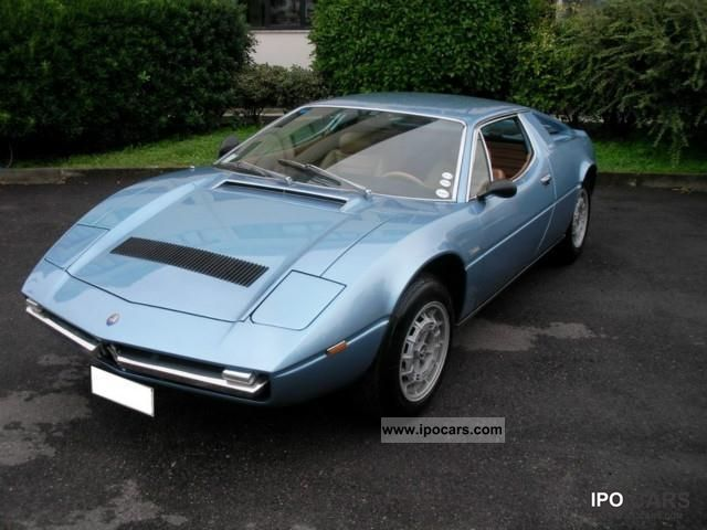 Maserati  Merak 3000 (AM 122) 1975 Vintage, Classic and Old Cars photo