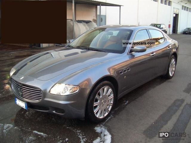2006 maserati quattroporte automatica related infomation specifications weili automotive network. Black Bedroom Furniture Sets. Home Design Ideas