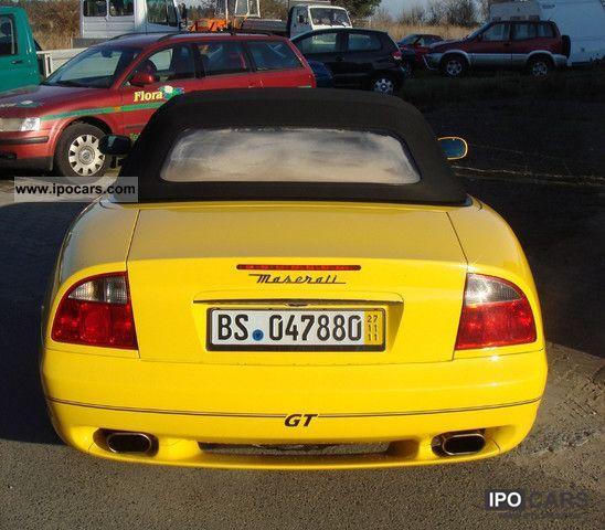 2001 Maserati Spyder Cambiocorsa M138 F1 AD Cabrio / roadster Used ...