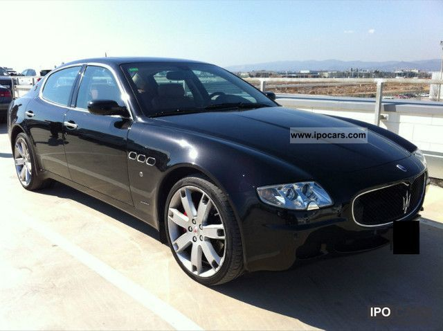 2007 maserati quattroporte sport gt duoselect car photo and specs. Black Bedroom Furniture Sets. Home Design Ideas