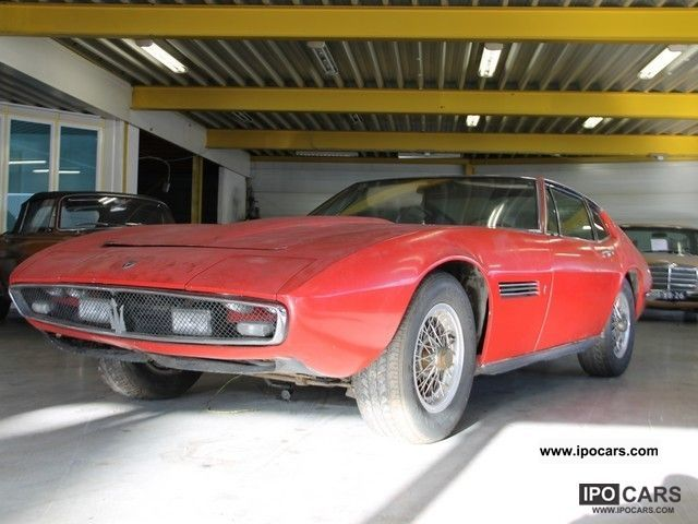 1967 Maserati  For Ghibli 4.7 RESTORATION Sports car/Coupe Classic Vehicle photo