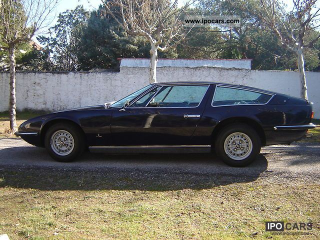 Maserati  Indy 1971 Vintage, Classic and Old Cars photo
