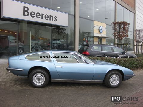Maserati  Indy 4700 America 1973 Vintage, Classic and Old Cars photo