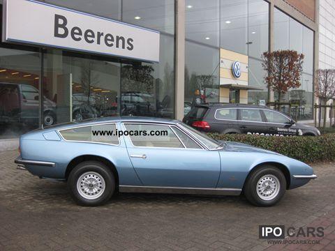1973 Maserati  Indy 4700 America Sports car/Coupe Used vehicle photo