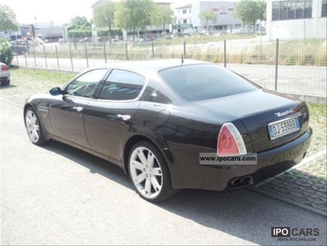 2007 maserati quattroporte sport gt automatic car photo and specs. Black Bedroom Furniture Sets. Home Design Ideas