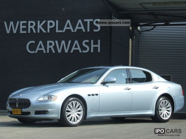 2009 Maserati  Quattroporte 4.2 V8 Automaat facelift, org. NL-A Limousine Used vehicle photo
