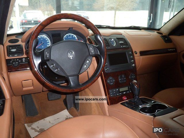 2007 Maserati Quattroporte Executive Gt Car Photo And Specs