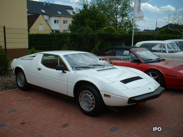 1979 Maserati  Merak SS.1 hand, 1-Lack.Perfeckt original state Sports car/Coupe Used vehicle photo